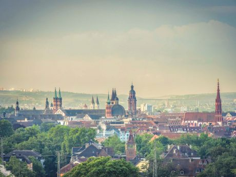 Aussicht auf Würzburg. Foto: Pascal Höfig