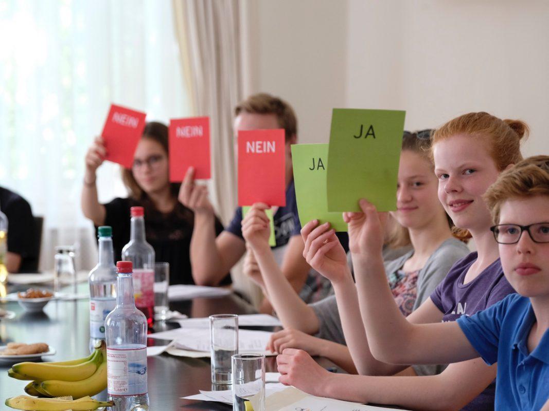Der Kinderbeirat kommt zum ersten Mal nach Würzburg. Foto: Children for a better World, CHILDREN Kinderbeirat München