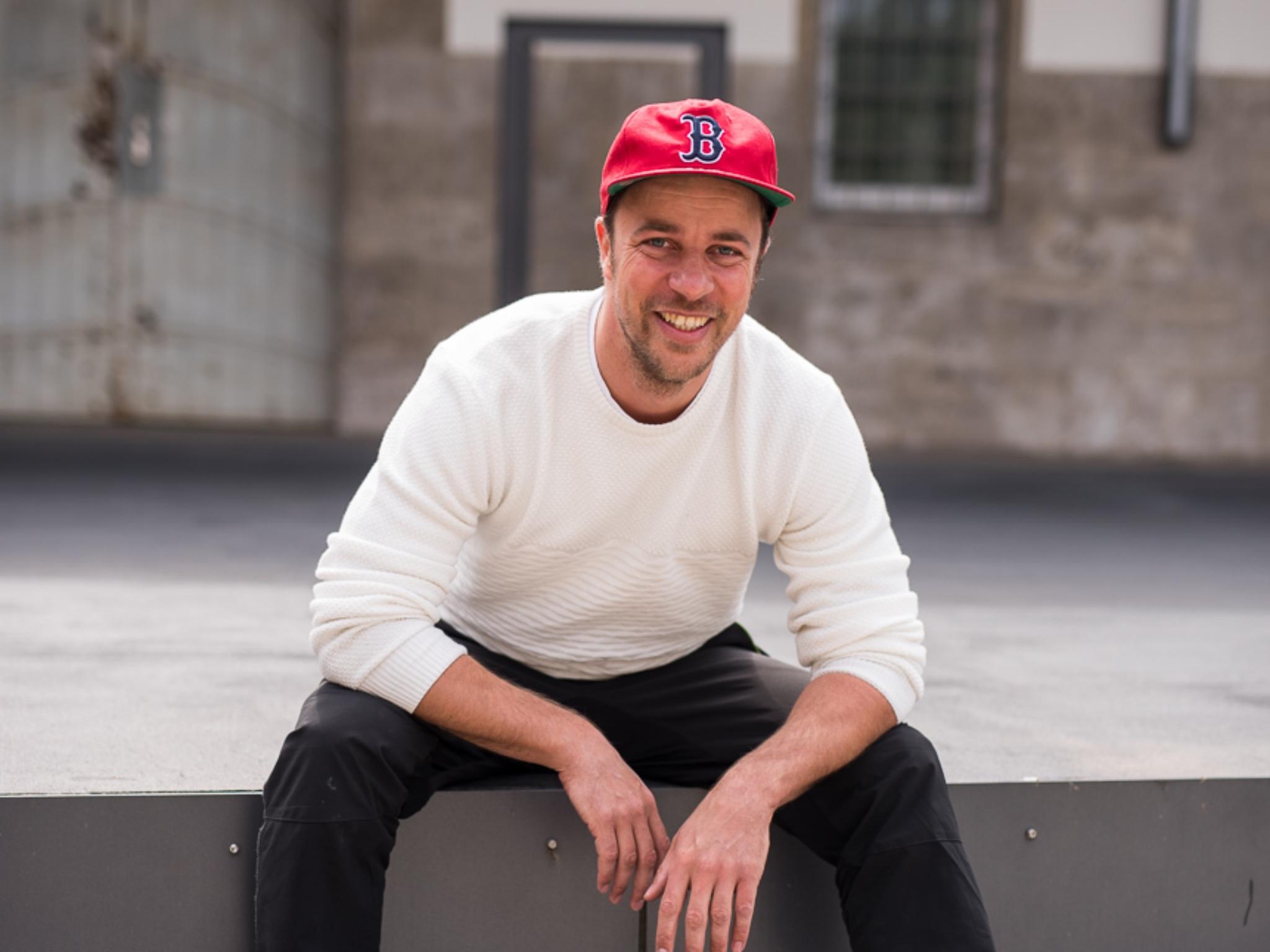 "Malte steckt hinter seinem Projekt ""PushUps4Charity"". Foto: Uschi Mattke"