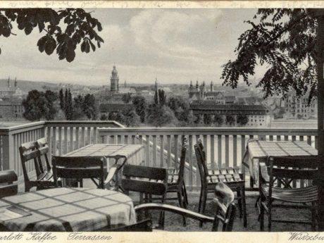 Die Charlott-Terrassen waren ein edles Tanzlokal aus den 20er Jahren. Archiv: Willi Dürrnagel