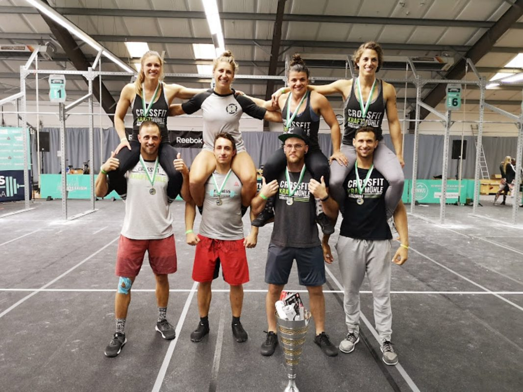 Das Team der Crossfit Kraftmühle. Foto: Simon Grundmann