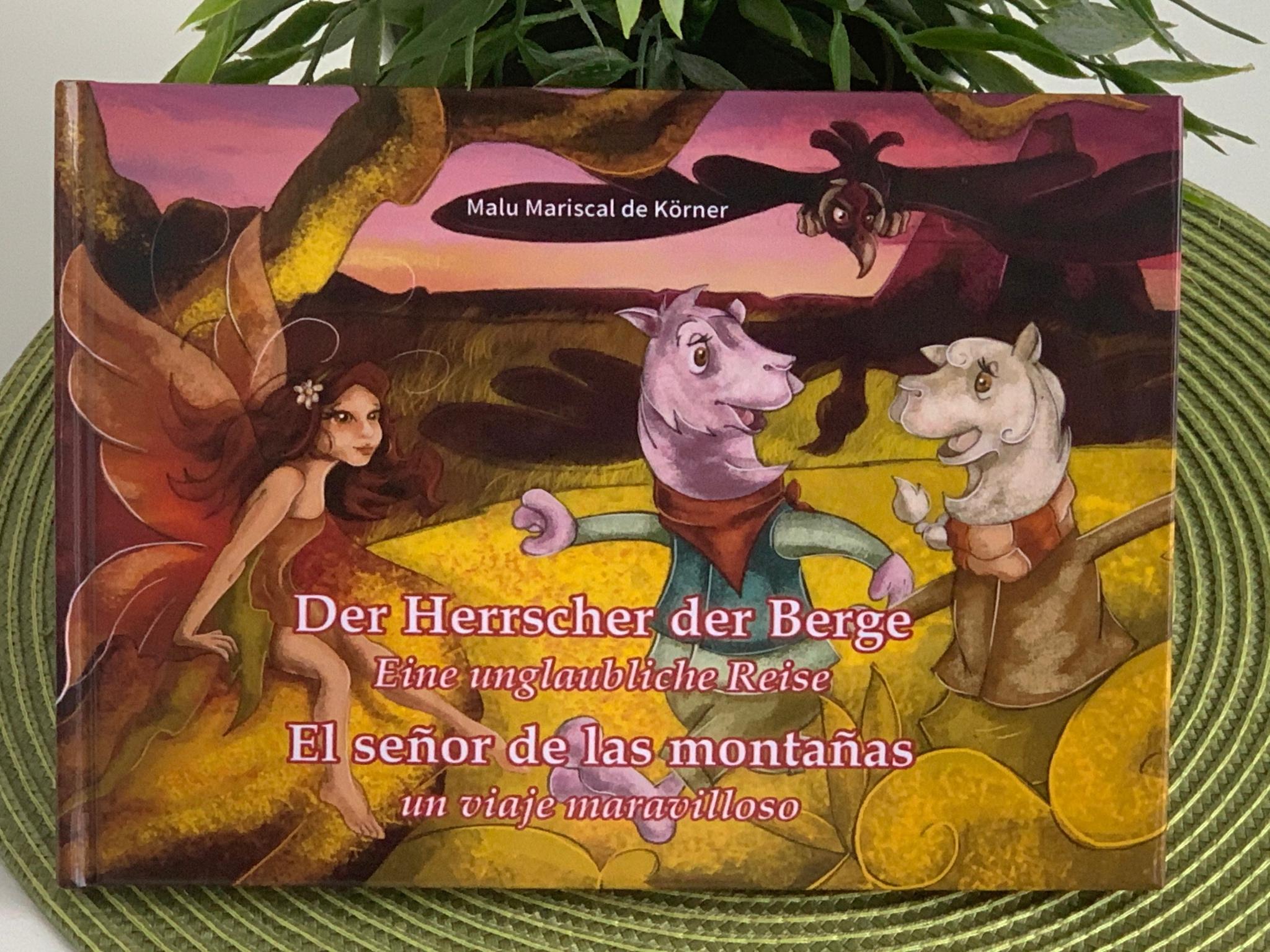 """""""Der Herrscher der Berge"""" - ein Kinderbuch von Maria Luisa Mariscal. Foto: Maria Luisa Mariscal"""