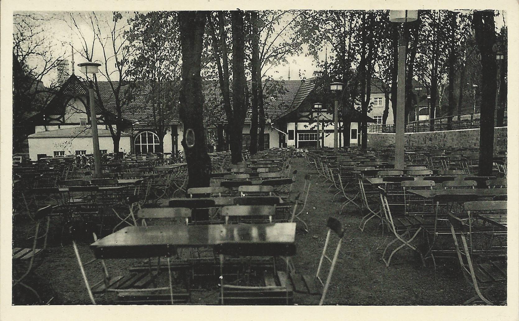 Der Beer'sche Felskenkeller war ebenfalls eine gut besuchte Gastronomie am Nikolausberg. Archiv: Willi Dürrnagel
