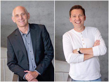 Wolfgang Heyder und Jochen Bähr sind die Geschäftsführer des Teams, das hinter der Organisation und Umsetzung des Mainlit steht. Fotos: Mainlit