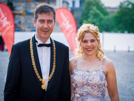 OB Christian Schuchardt und Lebensgefährtin Eva-Maria Bast. Foto: Pascal Höfig