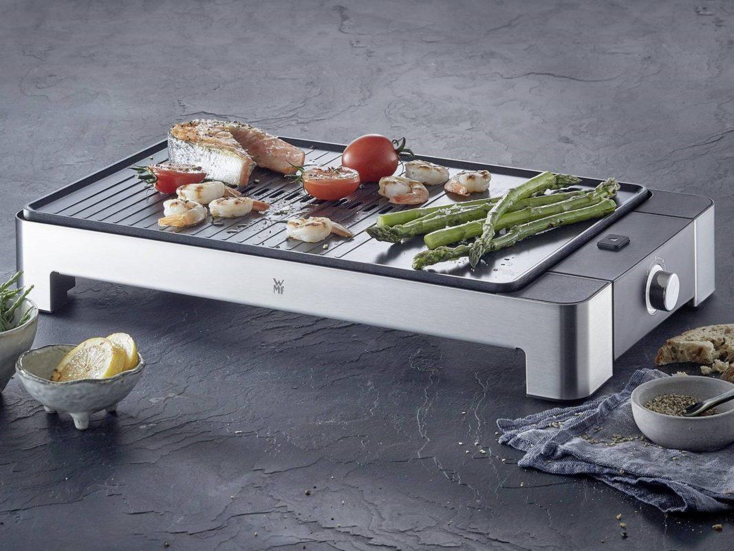 WMF-Tischgrill zu gewinnen! Foto: MEDA Gute Küchen