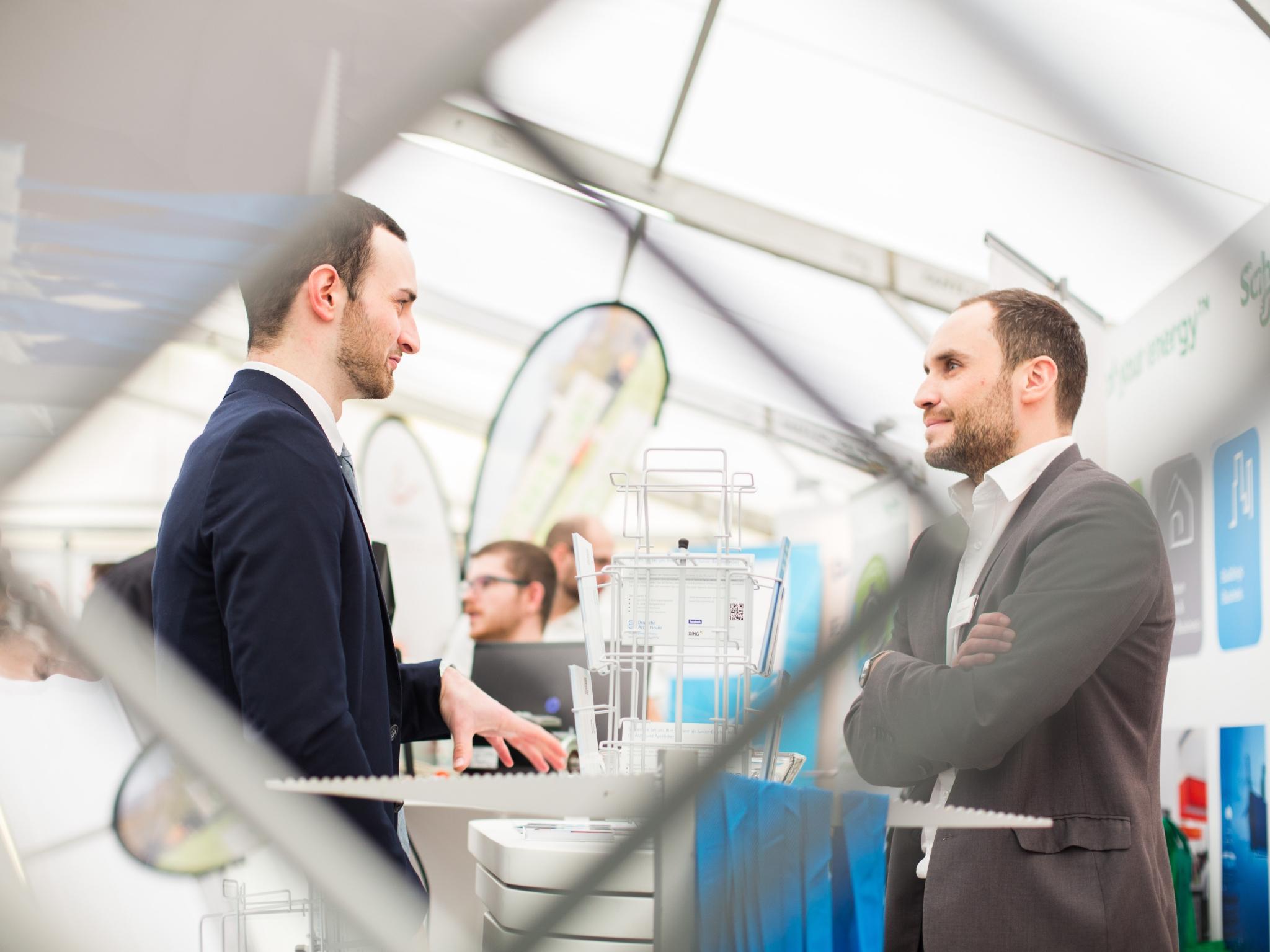 Am 14. November 2019 findet auf dem Hubland Süd Campus die Jobmesse study&stay statt. Foto: Universität Würzburg GmbH