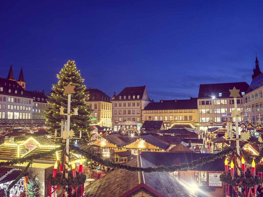 Symbolbild Weihnachtsmarkt Würzburg. Foto: Pascal Höfig