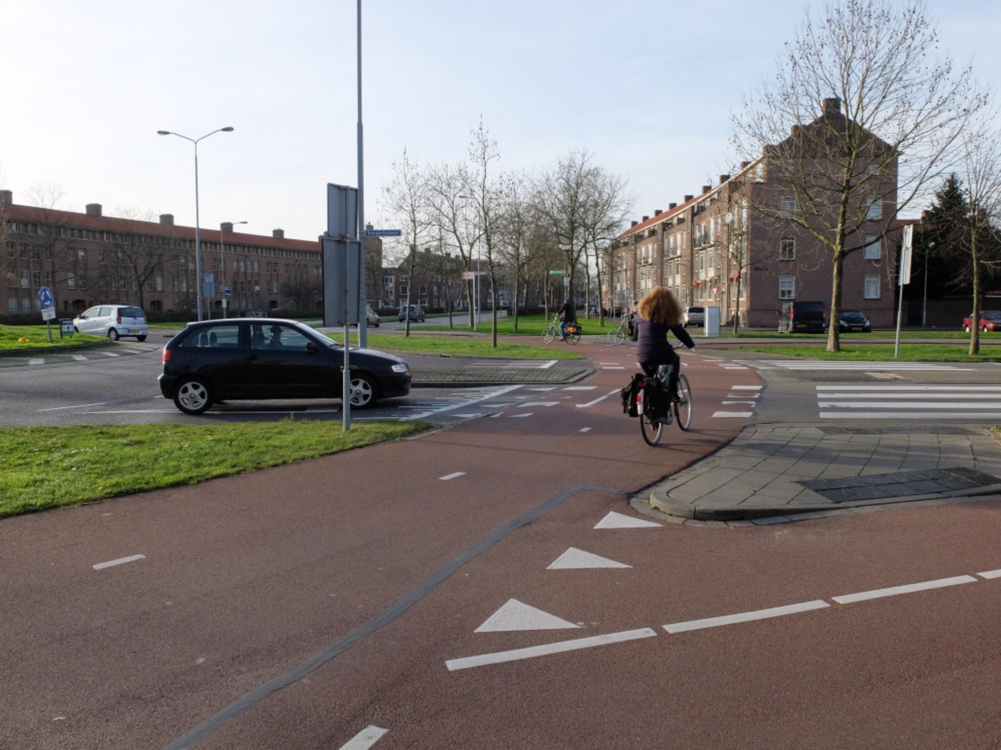 Niederländisches Kreuzungsdesign. Foto: Bündnis Verkehrswende jetzt / Bas Bergervoet