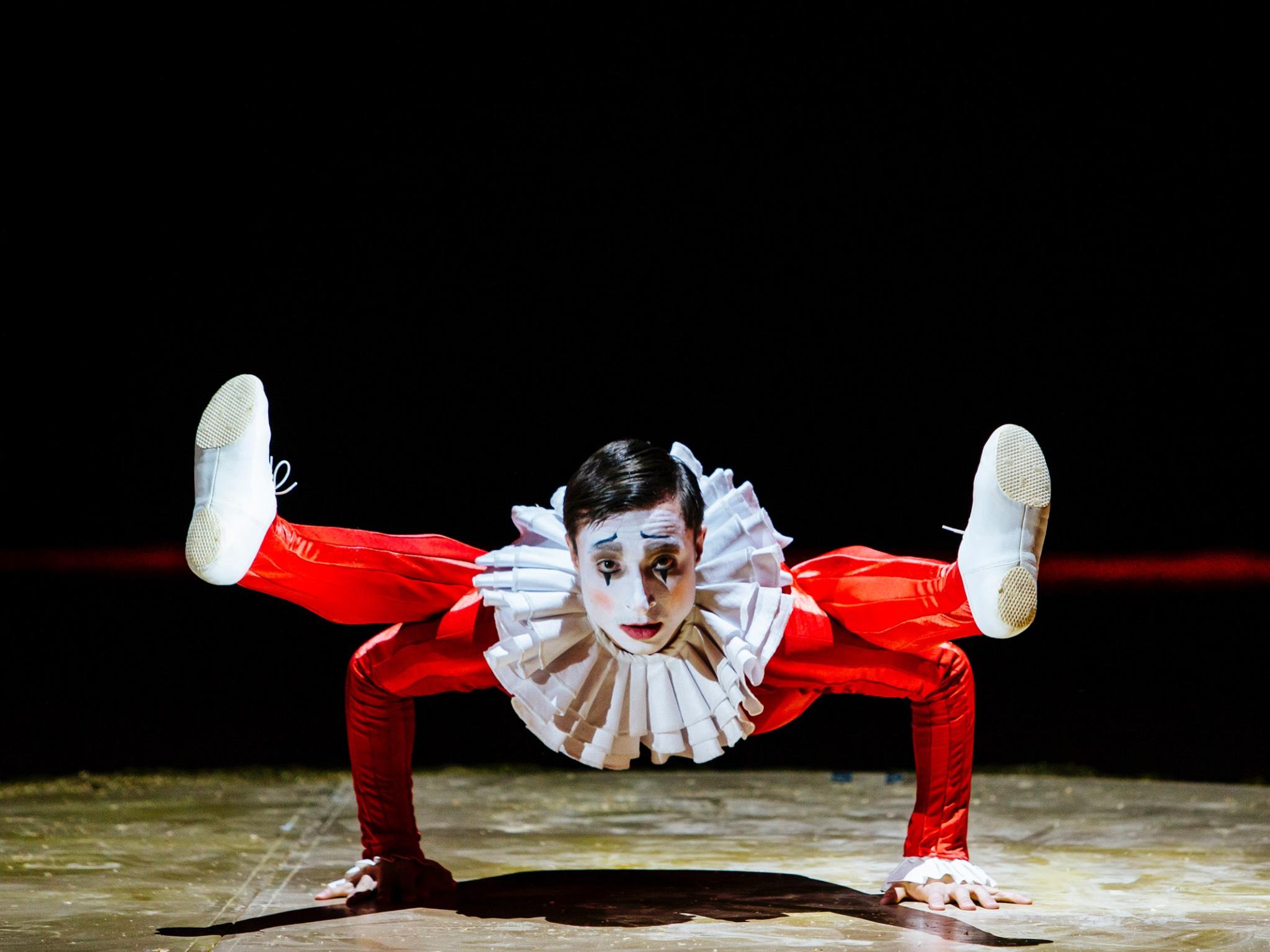 Der Clown darf beim Circus Krone natürlich auch nicht fehlen. Foto: Circus Krone