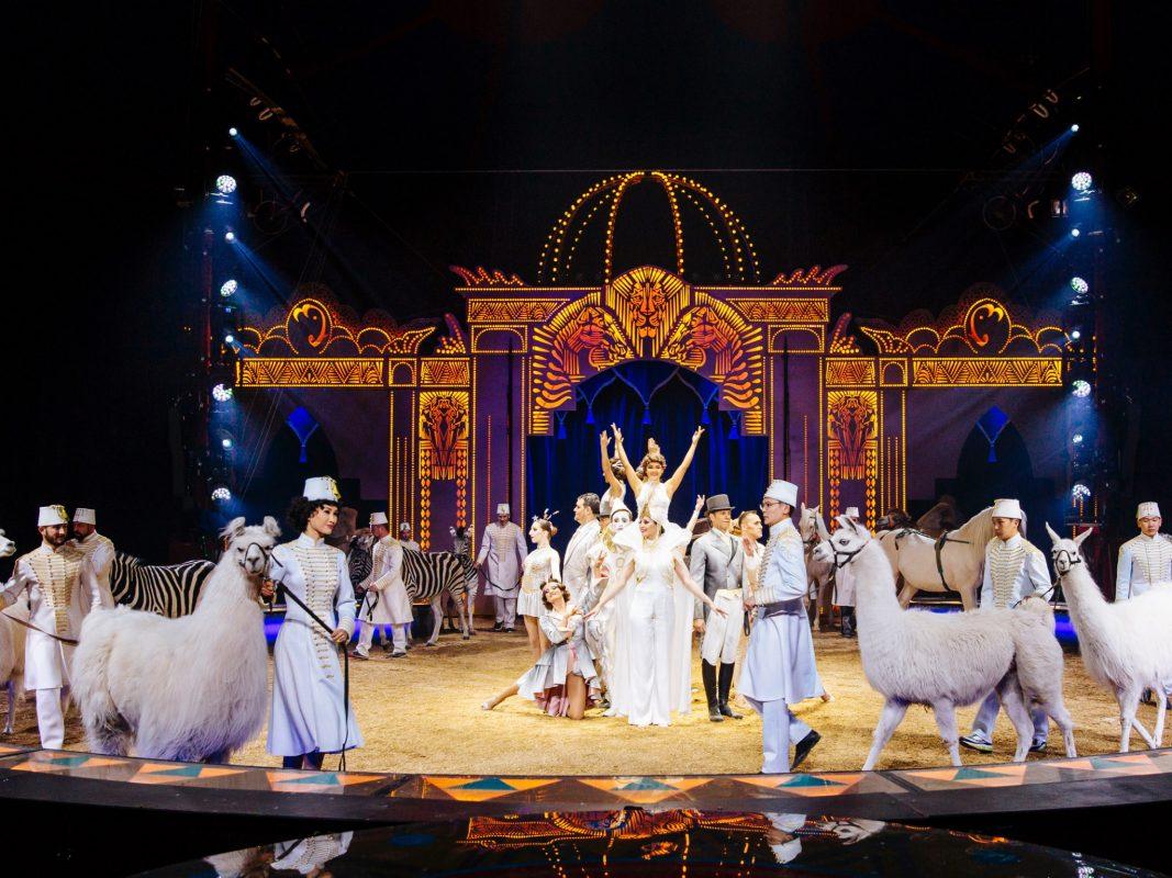 """Der Circus Krone begeistert mit seinem Tournee-Programm """"Mandana - Circuskunst neu geträumt"""" tausende von Menschen! Foto: Circus Krone"""