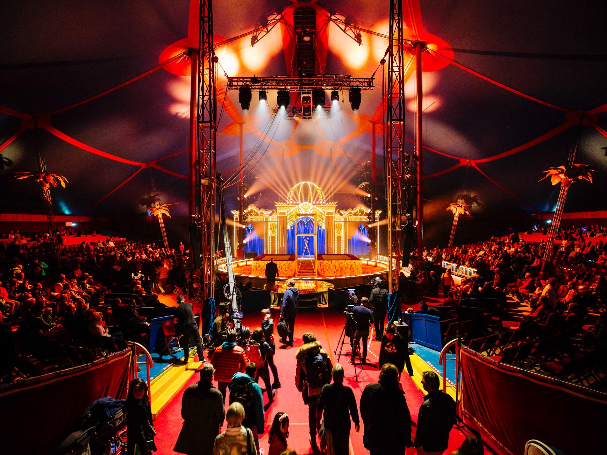 """""""Manege frei!"""": Bis zum 11. November öffnet der Circus Krone in Würzburg seine Türen. Foto: Circus Krone"""