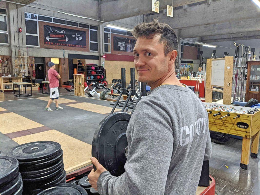 Piet ist Inhaber von CrossFit Würzburg. Foto: Christian P.