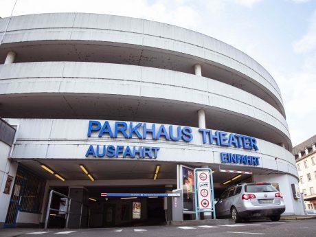 Das Parkhaus Theater. Foto: Dominik Ziegler