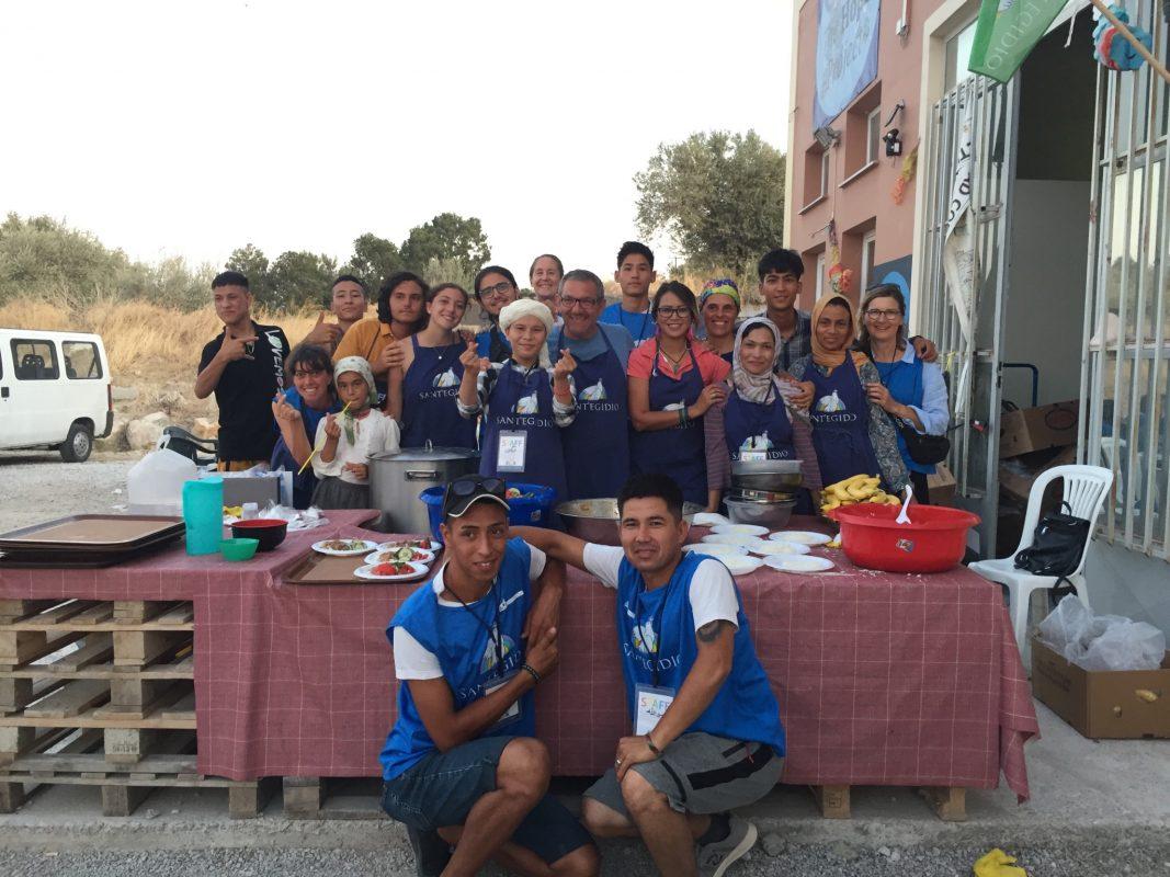Die Gemeinschaft Sant'Egidio engagiert sich in der Flüchtlingshilfe. Foto: Massimo Moretti/ Angelika Wagner