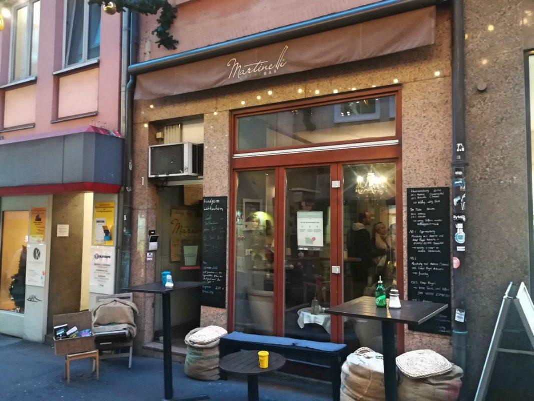 Die Martinelli Caffè-Bar zieht in die Domstraße um. Foto: Jessica Hänse
