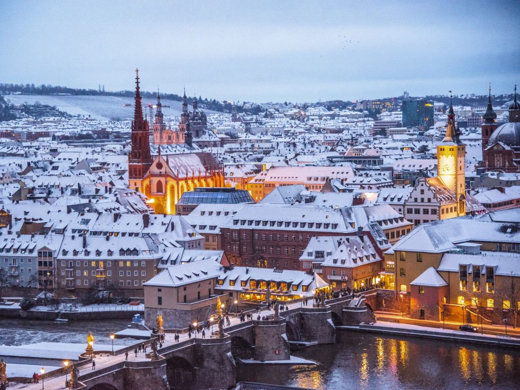 Würzburg im Winter. Foto: Pascal Höfig