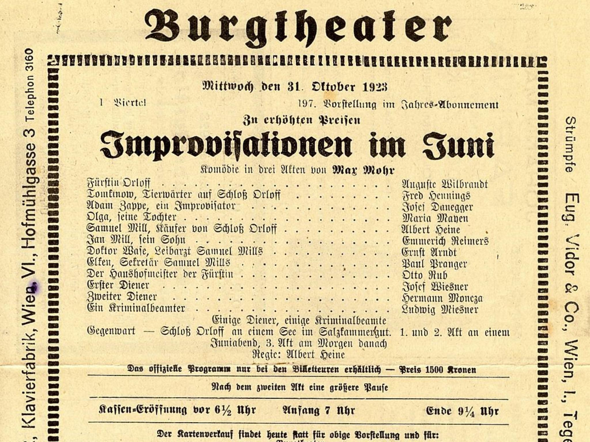 """Max Mohrs berühmtestes Stück """"Impressionen im Juni"""". Foto: Archiv Willi Dürrnagel"""