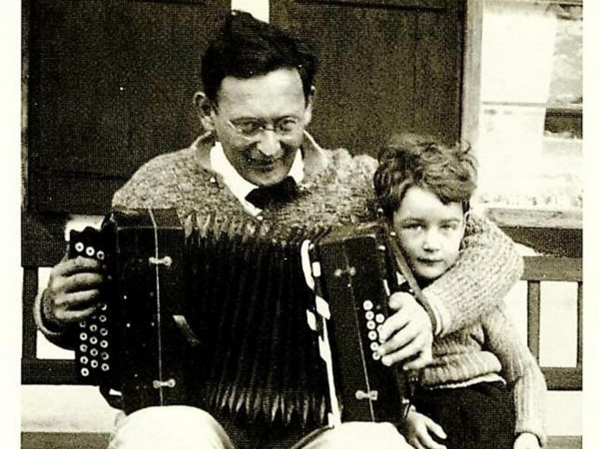 Max Mohr mit seiner Tochter Eva, ca. 1930. Foto: Archiv Willi Dürrnagel