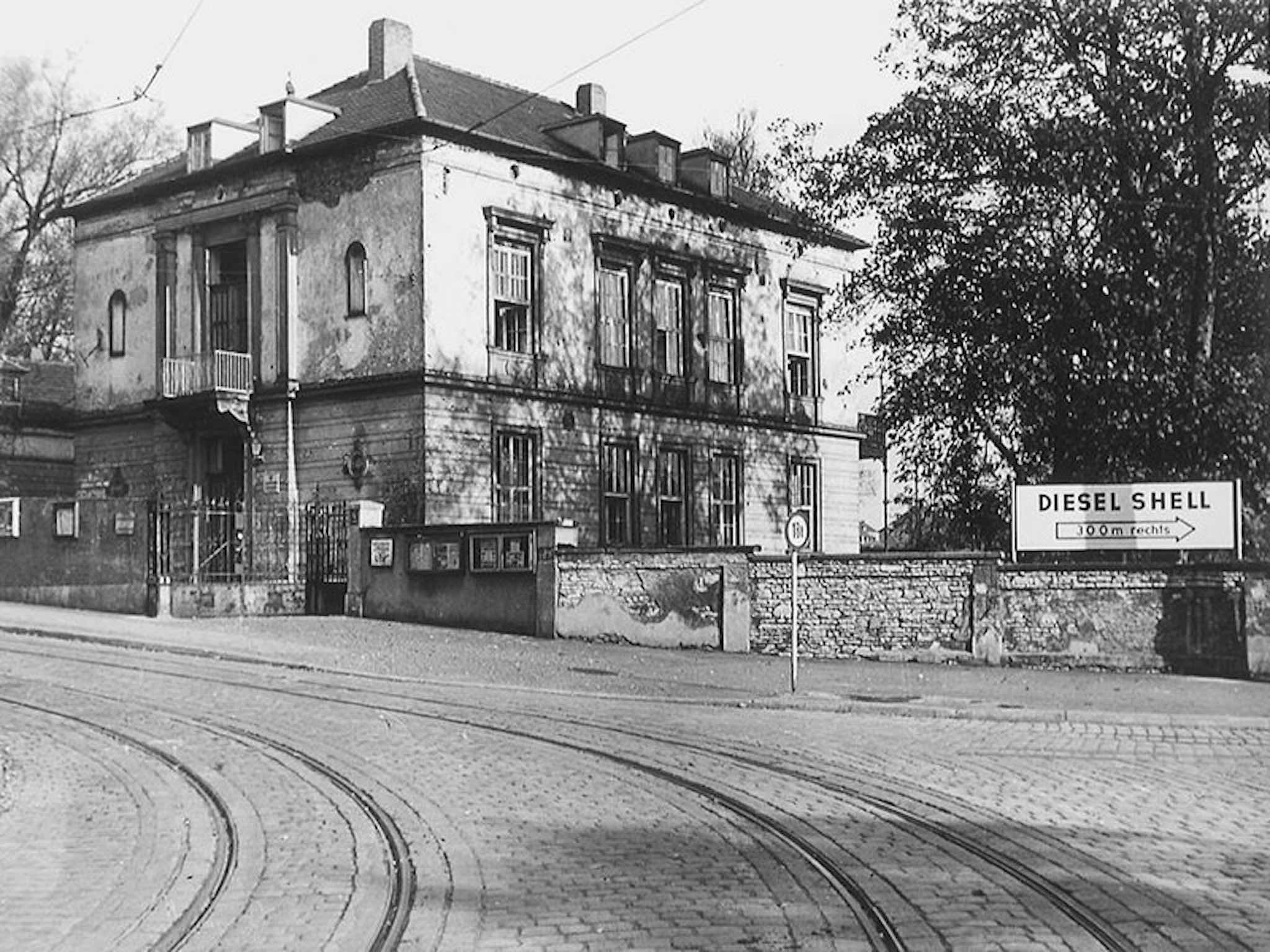 Die erste Geschäftsstelle der AWO Unterfranken in Grombühl. Foto: Archiv AWO Unterfranken