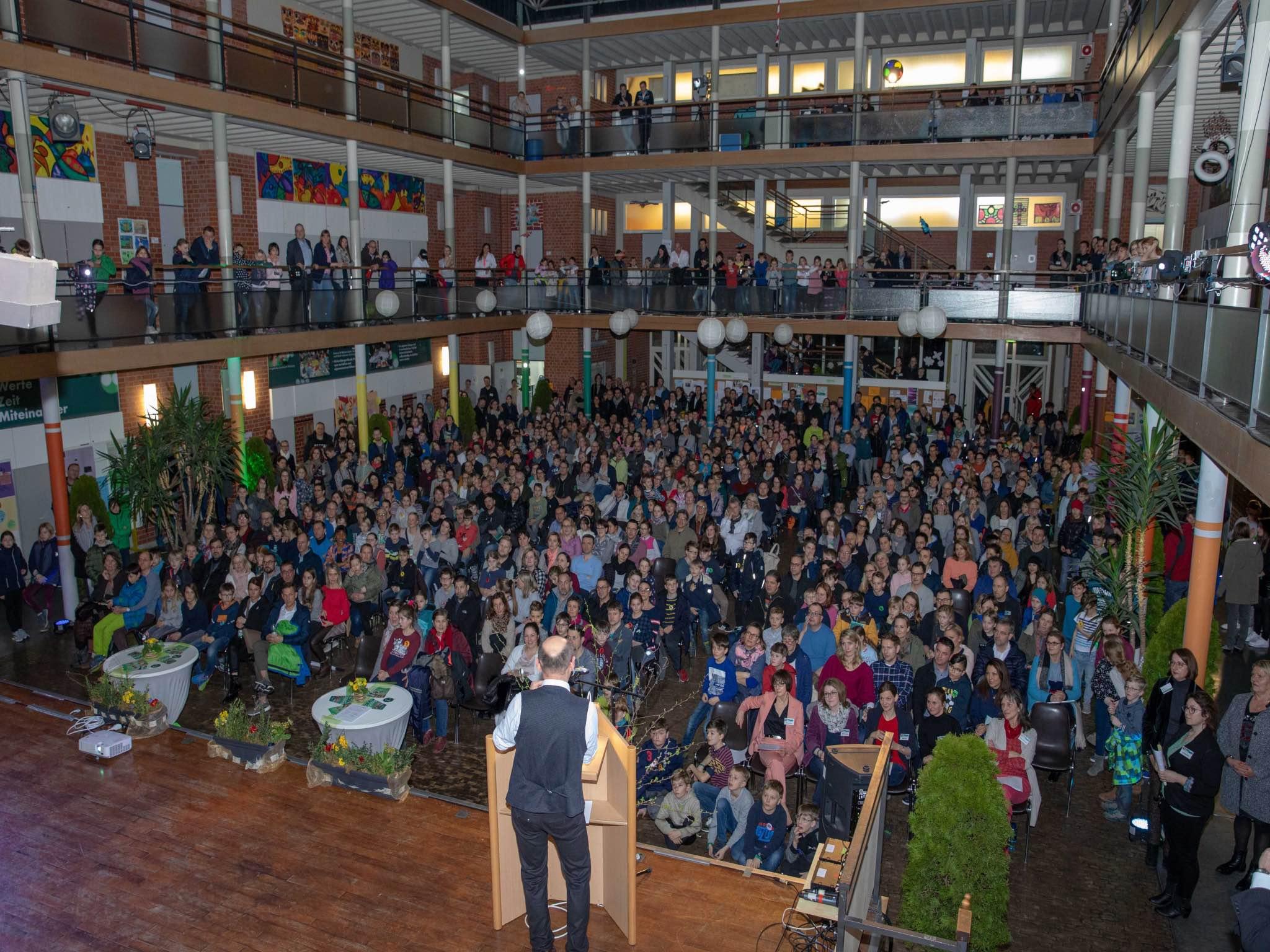 Mehr Informationen zur Schule und Anmeldung gibt es beim Infoabend am 3. März. Foto: Thomas Düchtel