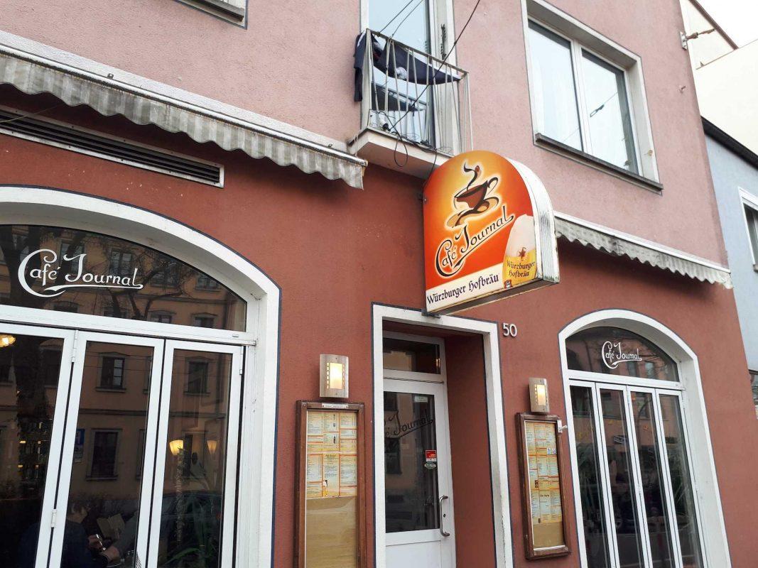 Das Café Journal in der Juliuspromenade. Foto: Ina-Sophie Reigl