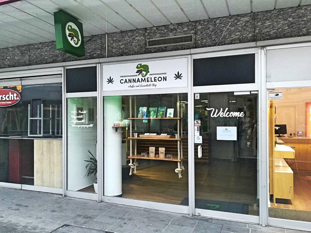 Cannameleon in der Eichhornstraße. Foto: Jessica Hänse