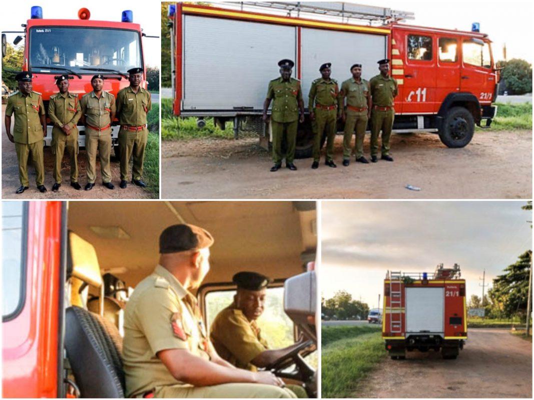 Feuerwehrauto für Mwanza. Foto: Mwanza Fire and Rescue Force