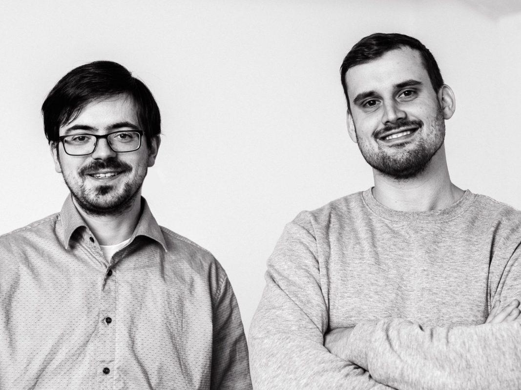 Die beiden Gründer von Happy Robot 3D: Max (links) und Sascha (rechts). Foto: Happy Robot 3D