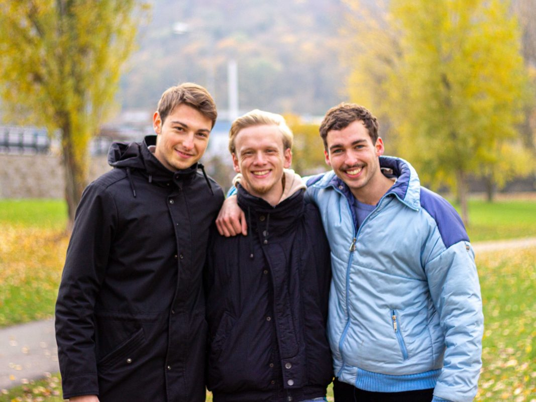 Die Patzo-Gründer Alexander Weigand, Marcel Wittstadt und Felix Kox. Foto: Patzo