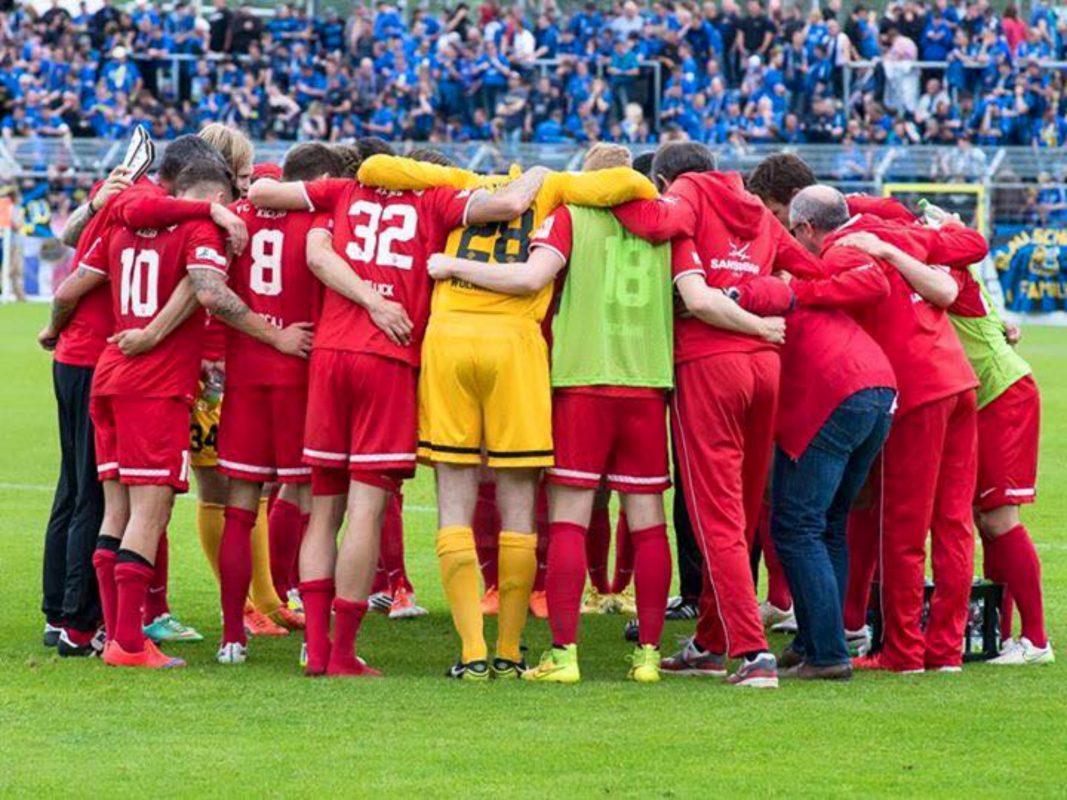 Das Team der Würzburger Kickers befindet sich aktuell im Trainingslager. Foto: Pascal Höfig