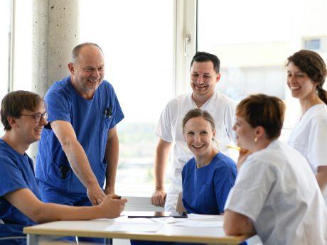 Laut Stern-Ranking Stern ist das Uniklinikum Würzburg als Arbeitgeber unter den bayerischen Universitätsklinika führend. Foto: Uniklinikum Würzburg