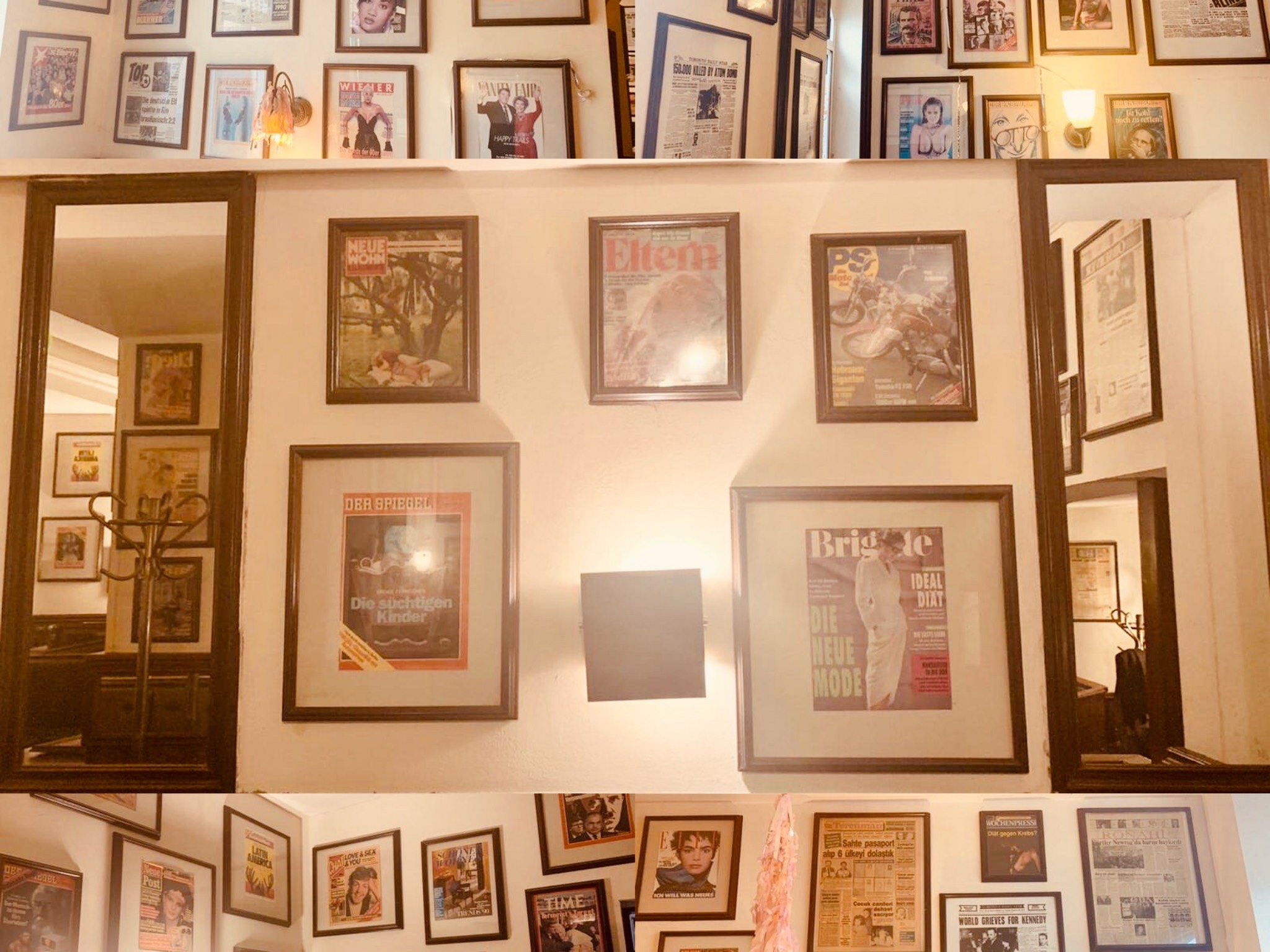 Bilder aus dem Café Journal werden verkauft. Foto: Marina Imgrund