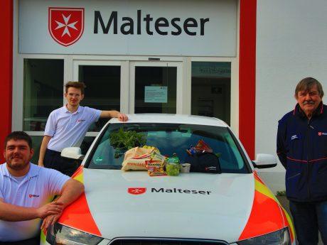 Die Malteser Würzburg bieten ab sofort einen kostenlosen Einkaufsservice an für Senioren und Menschen mit Vorerkrankungen. Foto: Paul Kordwig