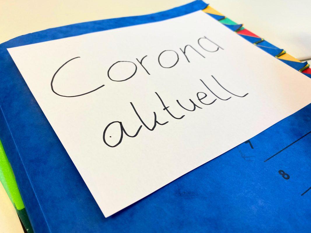 Symbolbild Coronavirus. Foto: Jessica Hänse