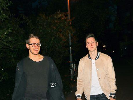 Nico Gwozdz (li.) und Niklas Griebel alias