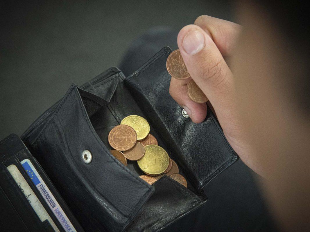 Symbolbild Geldbörse. Foto: Dominik Ziegler