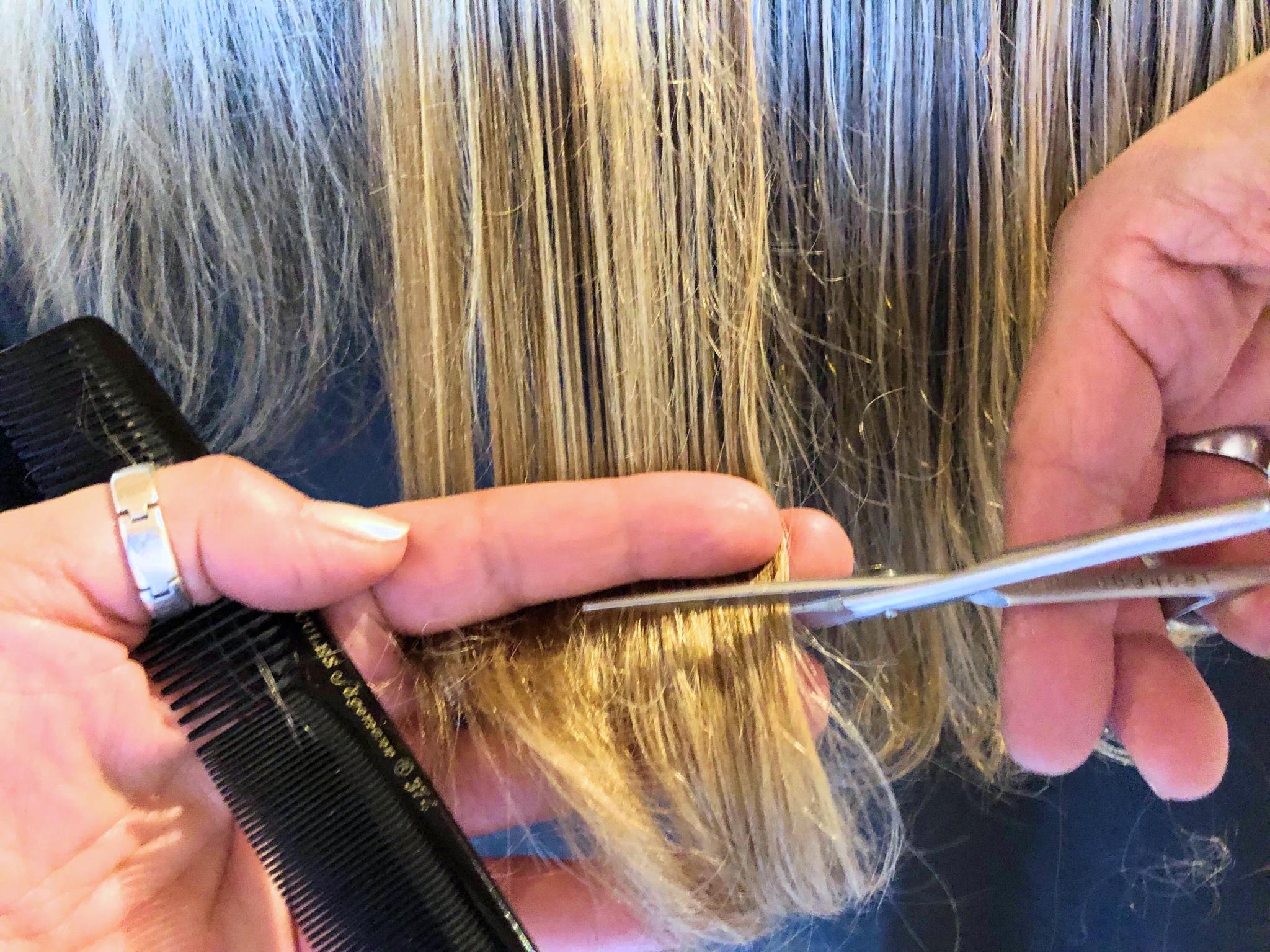 Symbolbild Haareschneiden. Foto: Katharina Kraus