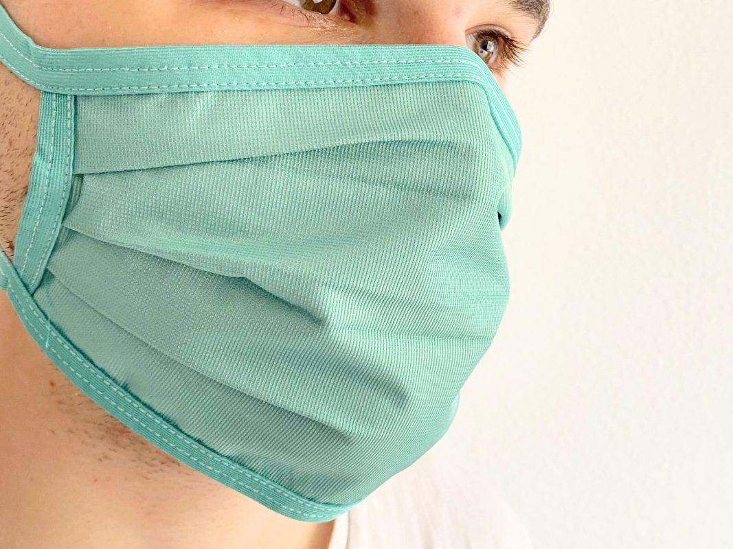 Symbolbild Maske. Foto: Jessica Hänse