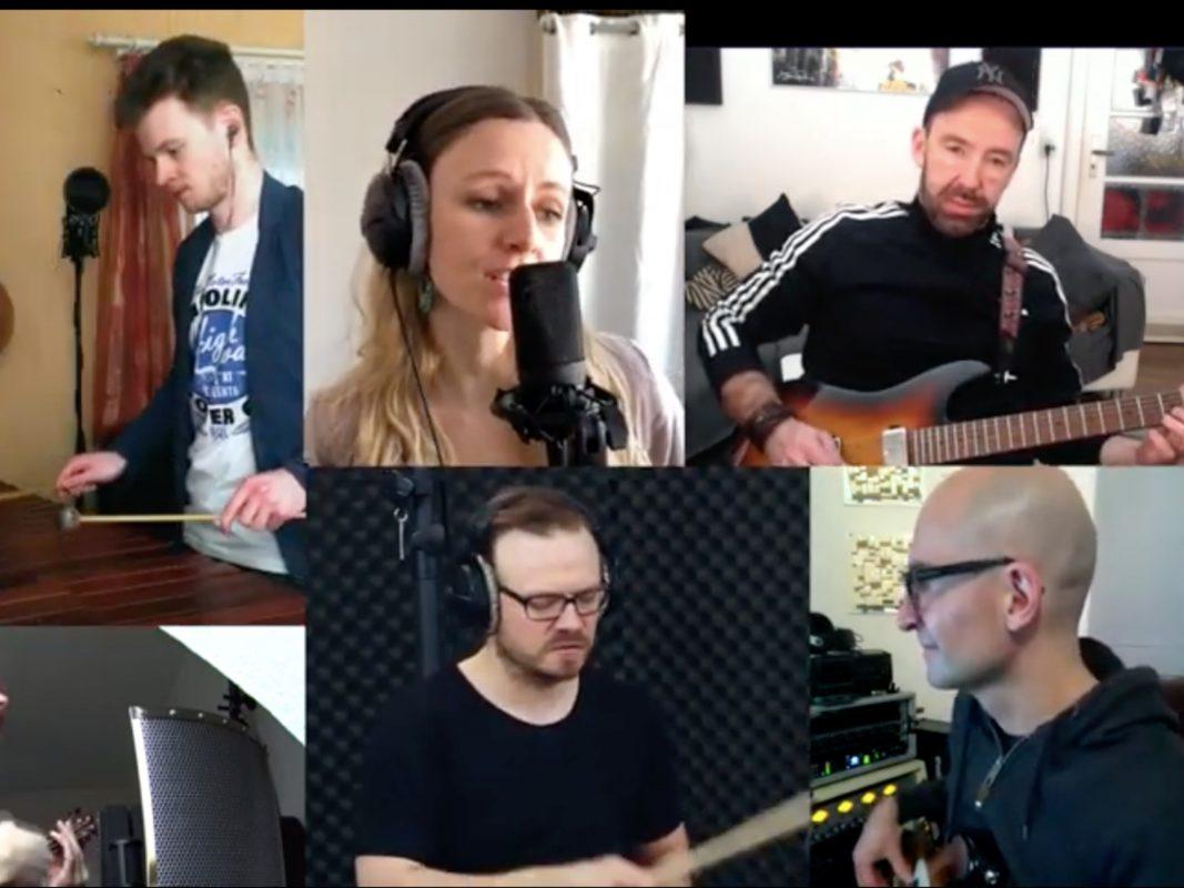 """Der Corona-Song """"Wir bleiben laut - You Can't Shut Down Music"""". Screenshot YouTube"""