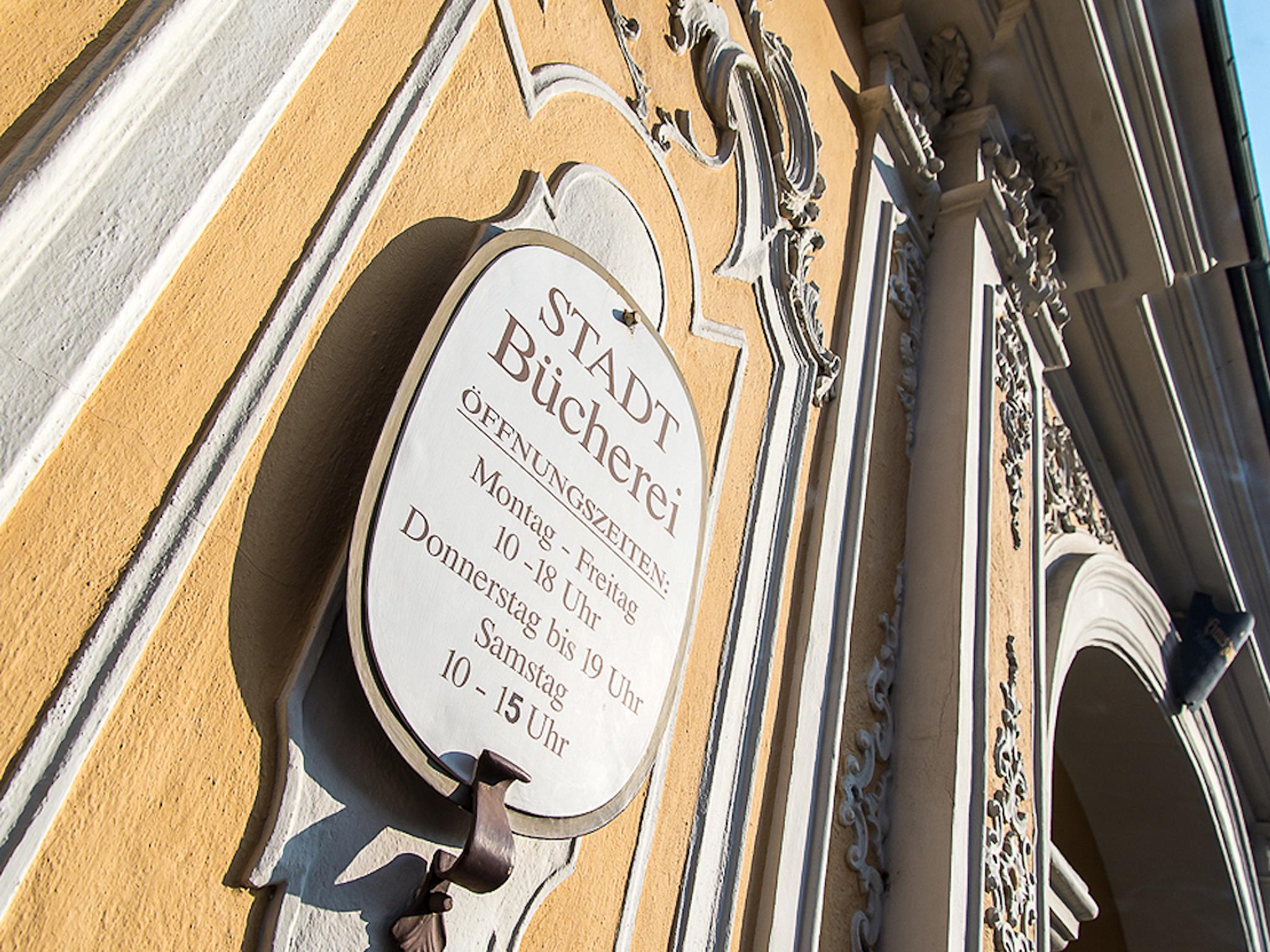 Stadtbücherei im Falkenhaus. Foto: Pascal Höfig