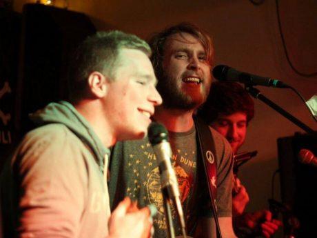 Die Musiker der Band Law vs. King. Foto: Lukas Pietsch