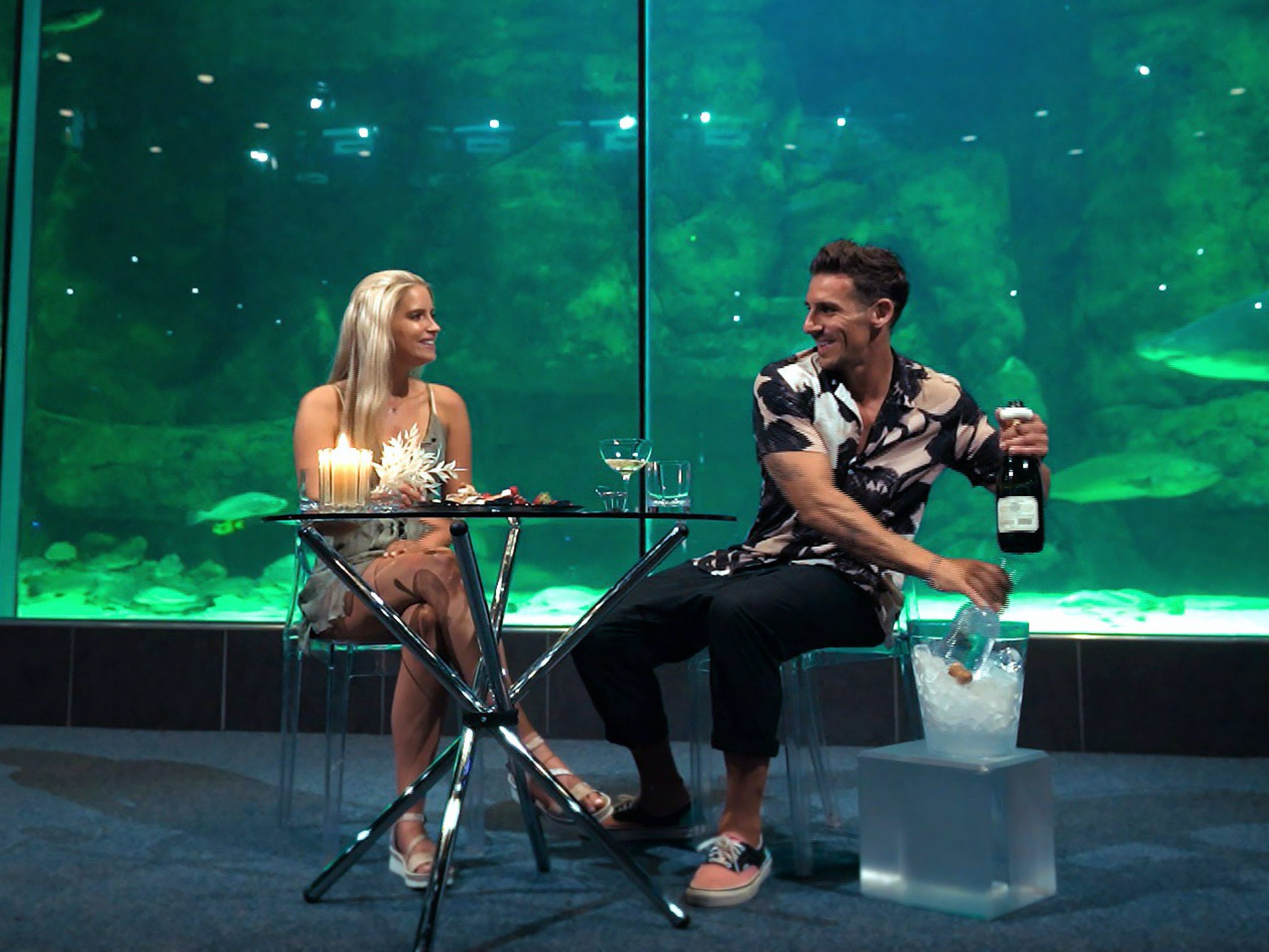 Aline und Mo. Foto: TVNOW