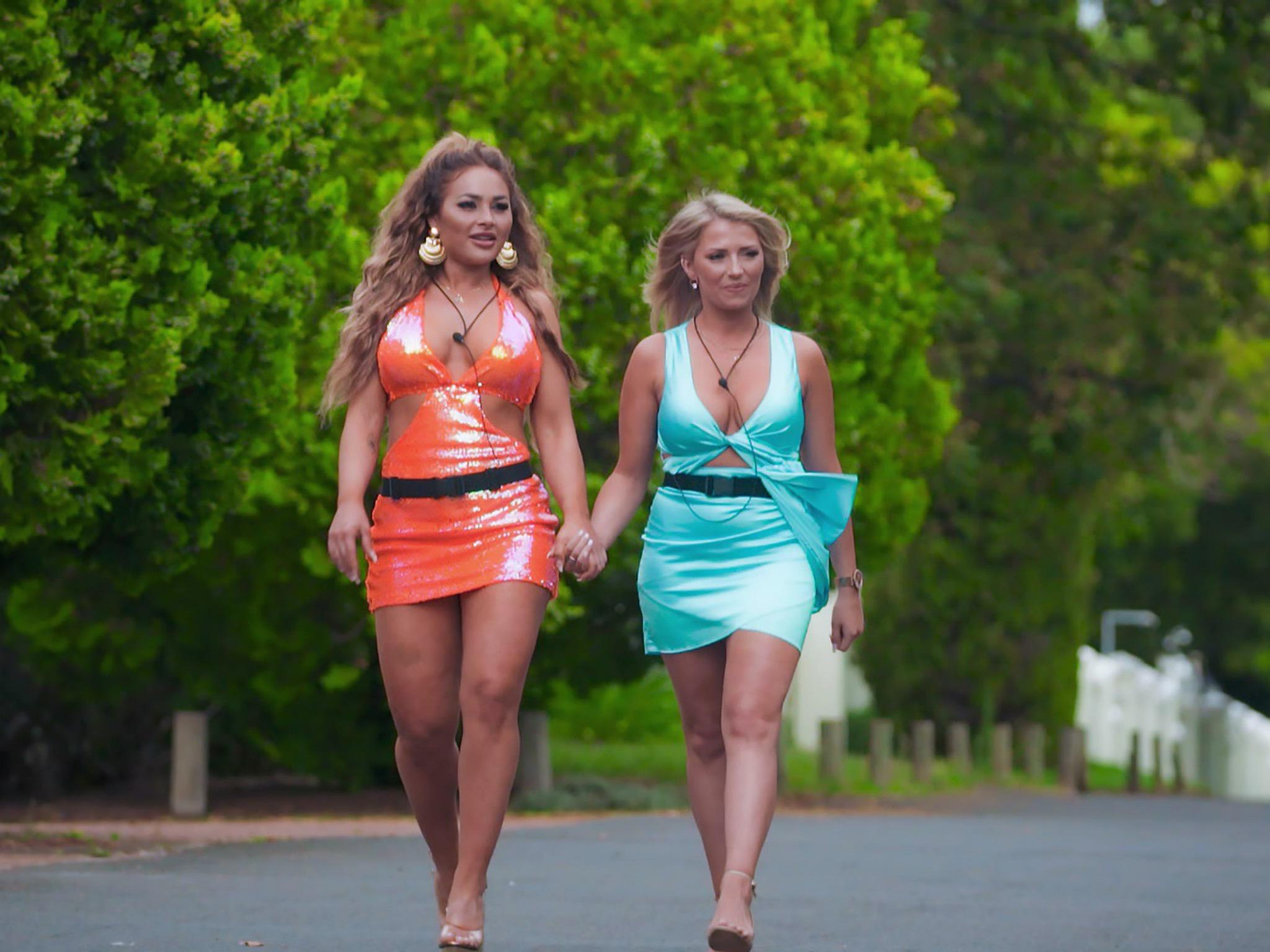 Laura (l.) und Melissa. Foto: TVNOW