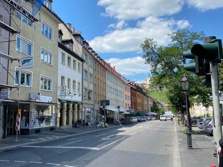 Die Neubaustraße. Foto: Jessica Hänse