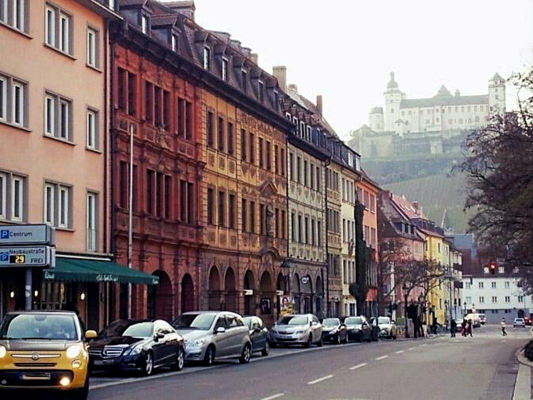 Die Neubaustraße. Foto: Würzburg erleben