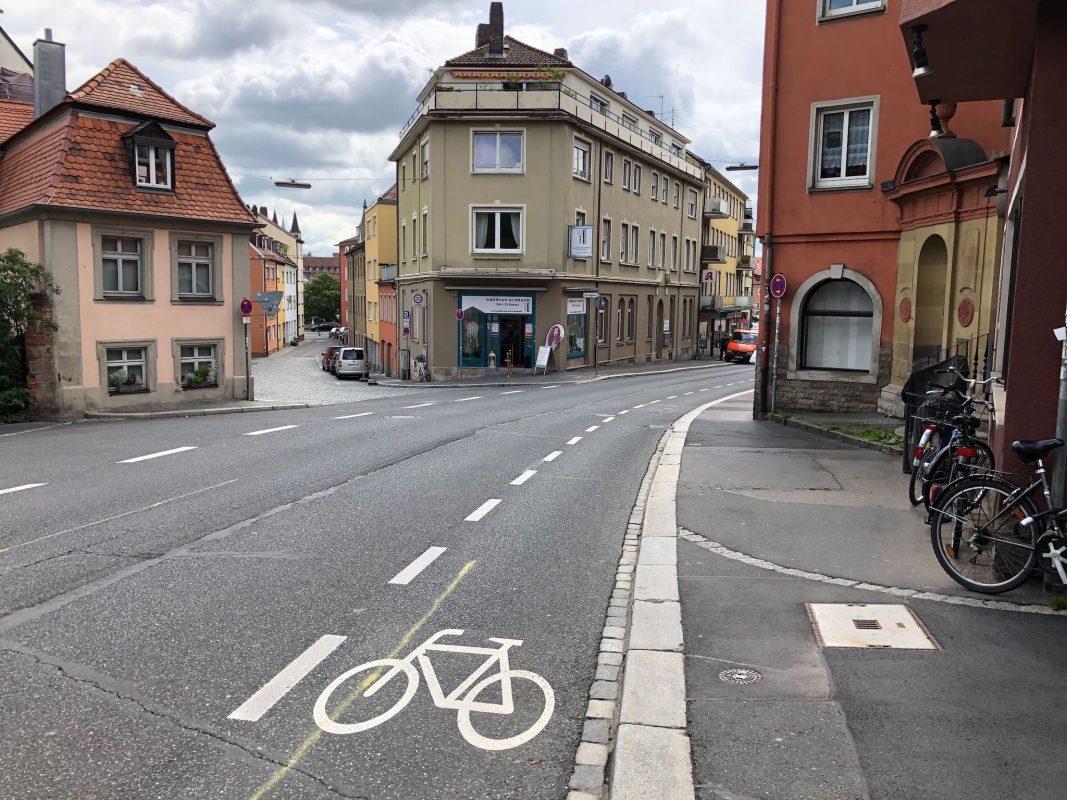 Die Zeller Straße in Würzburg. Foto: Katharina Kraus