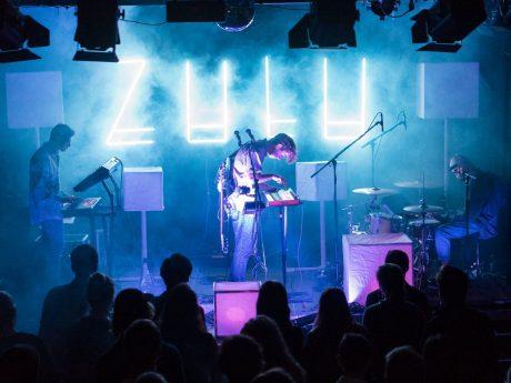 """Die Band Zulu nimmt am """"Umsonst und Drinnen"""" Festival teil. Foto: Leon Grunau"""
