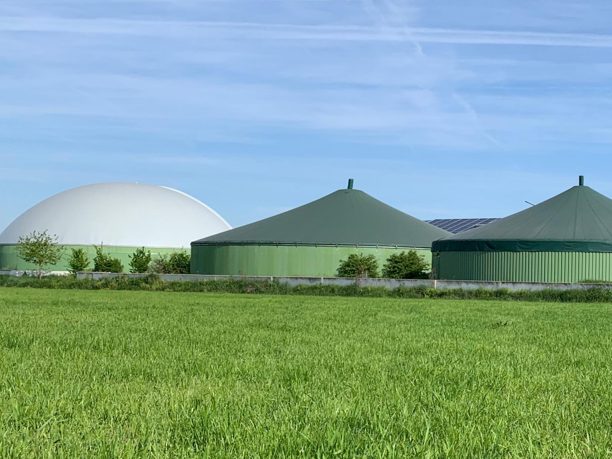 Auch in Trommetsheim befindet sich eine Biogasanlage. Foto: Hr. Goppelt