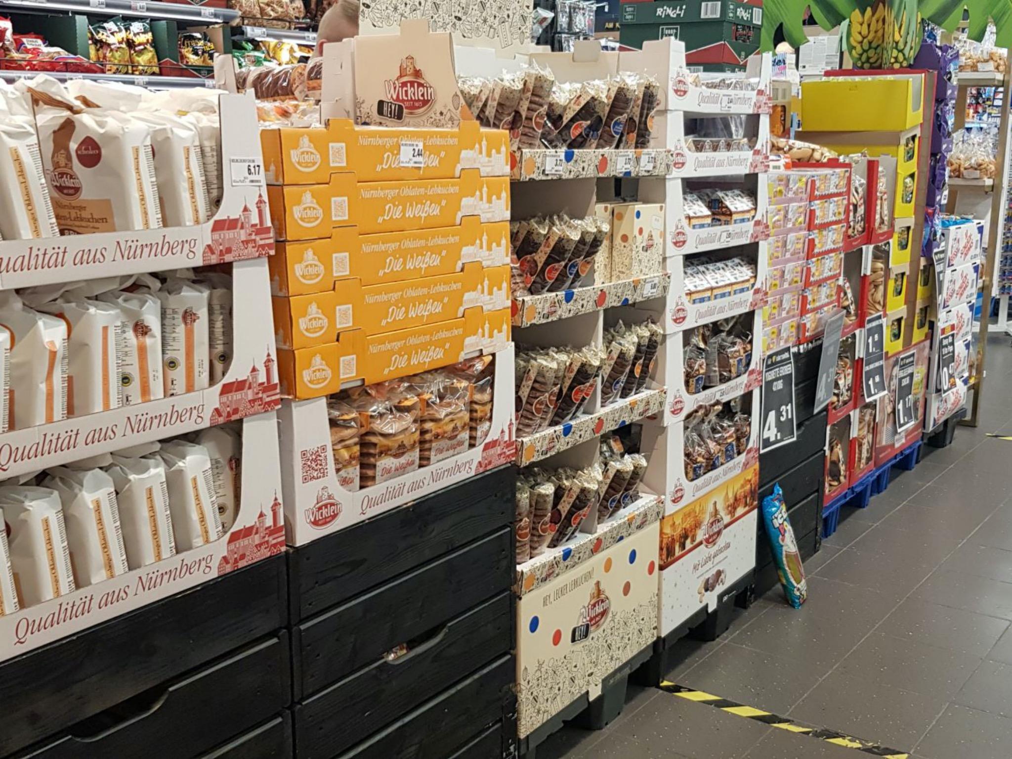 In Volkach gibt es jetzt schon Lebkuchen! Foto: Dirk Flieger